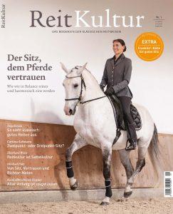 """Das neue Bookazine """"ReitKultur"""" beschäftigt sich in der ersten Ausgabe mit dem Tiefgang-Thema """"Der Sitz, dem Pferde vertrauen""""."""