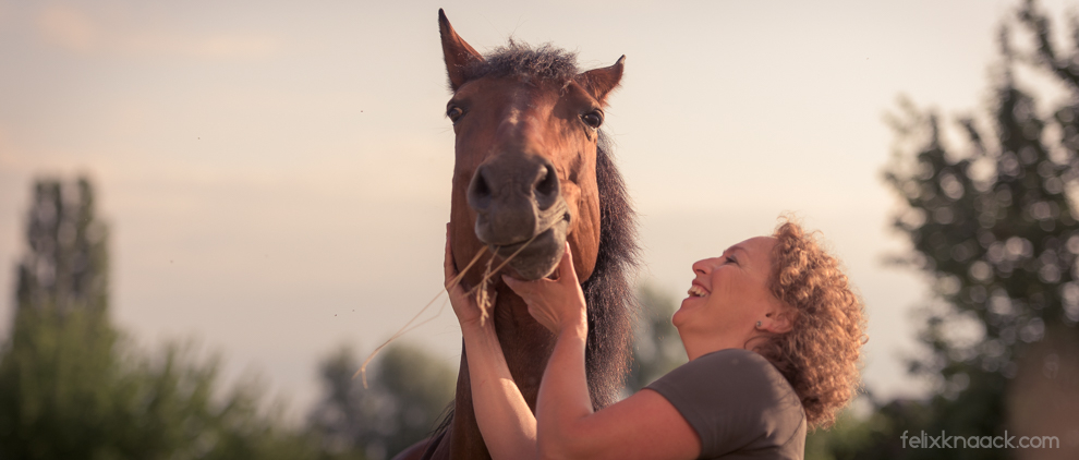 Christine Felsinger und Pferd Maya