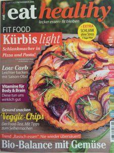 """Der Ernährungsratgeber """"eat healthy"""" liefert alle zwei Monate Experten-Wissen und leckere Rezepte! Gratisheft bestellen unter www.eathealthy.de"""