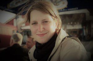 Frauke freut sich für ihre Freundin über die Reithose! Foto: privat