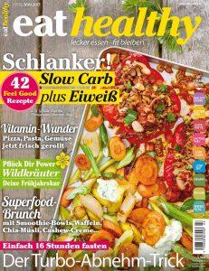 """Mein neues Food-Magazin """"eathealthy"""" bietet alle zwei Monate leckere Rezepte, Tipps und Wissenswertes rund um gesunde, schlanke Ernährung: www.eathealthy.de"""